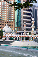 Masjid Jamek (Jamek Mosque), Kuala Lumpur, Malaysia.