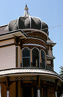 "Redlands CA: Morey House--""folded onion dome""."