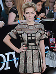 Kiernan Shipka attends The L.A. Premiere of DIVERGENT held at The Regency Bruin Theatre in West Hollywood, California on March 18,2014                                                                               © 2014 Hollywood Press Agency