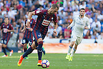 Eibar's Florian Lejeune during the match of La Liga between Real Madrid and SD Eibar at Santiago Bernabeu Stadium in Madrid. October 02, 2016. (ALTERPHOTOS/Rodrigo Jimenez)