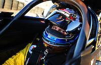 Jan 29, 2008; Chandler, AZ, USA; NHRA top fuel dragster driver Rod Fuller during testing at the National Time Trials at Firebird International Raceway. Mandatory Credit: Mark J. Rebilas-US PRESSWIRE