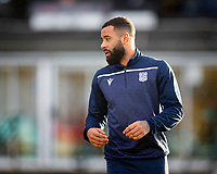 21st November 2020; Somerset Park, Ayr, South Ayrshire, Scotland; Scottish Championship Football, Ayr United versus Dundee FC; Alex Jakubiak of Dundee during the warm up before the match