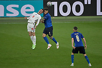Giovanni Di Lorenzo of Italy and Mason Mount of England during the Uefa Euro 2020 Final football match between Italy and England at Wembley stadium in London (England), July 11th, 2021. <br /> Photo Andrea Staccioli / Insidefoto