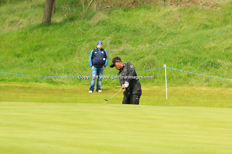 Thongchai JAIDEE (THA)  during round one of the 2016 Dubai Duty Free Irish Open hosted by The Rory Foundation and played at The K-Club, Straffan, Ireland. Picture Stuart Adams, www.golftourimages.com: 19/05/2016