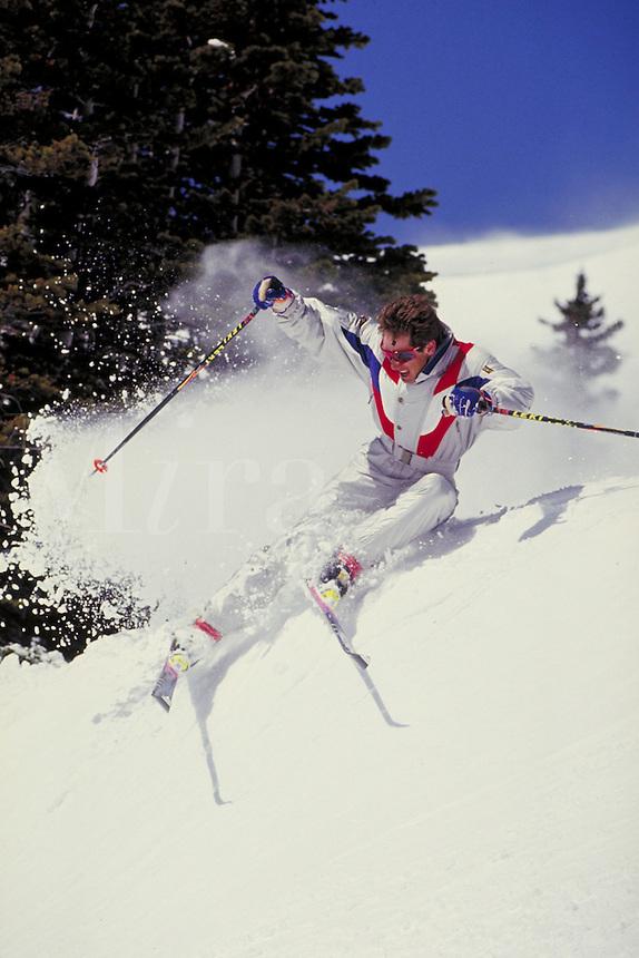 John Grugel (MR470) Alpine Skiing, Breckenridge Ski Area, Summit County, CO. John Grugel (MR470). Summit County, Colorado.