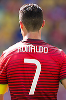 The shirt of Cristiano Ronaldo of Portugal