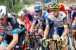 Polka Dot Jersey Romain Bardet (FRA) Team DSM during Stage 18 of La Vuelta d'Espana 2021, running 162.6km from Salas to Alto del Gamoniteiru, Spain. 2nd September 2021.    <br /> Picture: Luis Angel Gomez/Photogomezsport   Cyclefile<br /> <br /> All photos usage must carry mandatory copyright credit (© Cyclefile   Luis Angel Gomez/Photogomezsport)