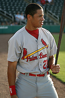 July 13, 2009:  Thomas Pham of the Palm Beach Cardinals during a game at Hammond Stadium in Ft. Myers, FL.  Palm Beach is the Florida State League High-A affiliate of the St. Louis Cardinals.  Photo By Mike Janes/Four Seam Images