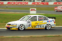 1997 British Touring Car Championship. #18 Jan Brunstedt. (SWE). Janco Motorsport. Opel Vectra.