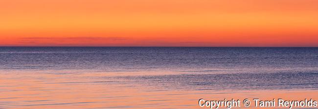 Sunset on Lake Manitoba