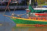 Boats of Balboa Island.  Photograph by Alan Mahood.
