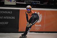 SPEEDSKATING: DORDRECHT: 06-03-2021, ISU World Short Track Speedskating Championships, SF 500m Men, Sjinkie Knegt (NED), ©photo Martin de Jong