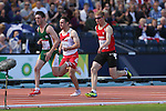 Glasgow 2014 Commonwealth Games<br /> Rhys Jones (Wales)<br /> Men's 100m T37 Heats<br /> <br /> 28.07.14<br /> ©Steve Pope-SPORTINGWALES