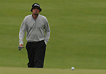 4 October 2008: Jeff Overton walks to the first green during the third round at the Turning Stone Golf Championship in Verona, New York.