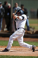 February 28, 2010:  Second Baseman Pierre LePage (9) of the University of Connecticut Huskies during the Big East/Big 10 Challenge at Raymond Naimoli Complex in St. Petersburg, FL.  Photo By Mike Janes/Four Seam Images