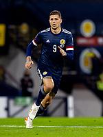 4th September 2021; Hampden Park, Glasgow, Scotland: FIFA World Cup 2022 qualification football, Scotland versus Moldova: Lyndon Dykes of Scotland breaks into attack