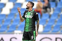 Francesco Caputo of US Sassuolo <br /> Reggio Emilia 22/09/2019 Stadio Citta del Tricolore <br /> Football Serie A 2019/2020 <br /> US Sassuolo - SPAL <br /> Photo Andrea Staccioli / Insidefoto
