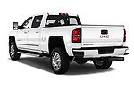 Car pictures of rear three quarter view of 2019 GMC Sierra-2500 Denali 4 Door Pick-up Angular Rear