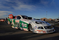 "Jan 20, 2007; Las Vegas, NV, USA; The car of NHRA Funny Car driver Ashley Force during preseason testing at ""The Strip"" at Las Vegas Motor Speedway in Las Vegas, NV. Mandatory Credit: Mark J. Rebilas"