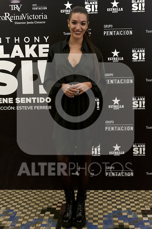 Ana Guerra attends the presentation of Si Tiene Sentido by Anthony Blake at Teatro Reina Victoria on October 01 in Madrid, Spain.(ALTERPHOTOS/ItahisaHernandez)
