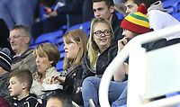 Swansea City fans during the Carabao Cup Third Round match between Reading and Swansea City at Madejski Stadium, Reading, England, UK. Tuesday 19 September 2017