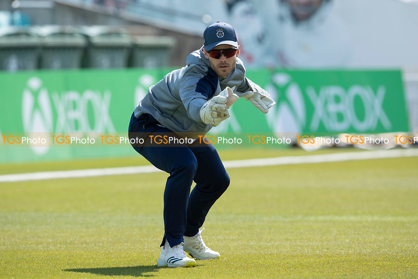 Lewis McManus of Hampshire CCC during Surrey CCC vs Hampshire CCC, LV Insurance County Championship Group 2 Cricket at the Kia Oval on 1st May 2021