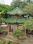 Garden pagoda.