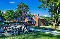 Historic Hartwell Tavern on the Battle Road Trail, Minute Man National Historical Park.