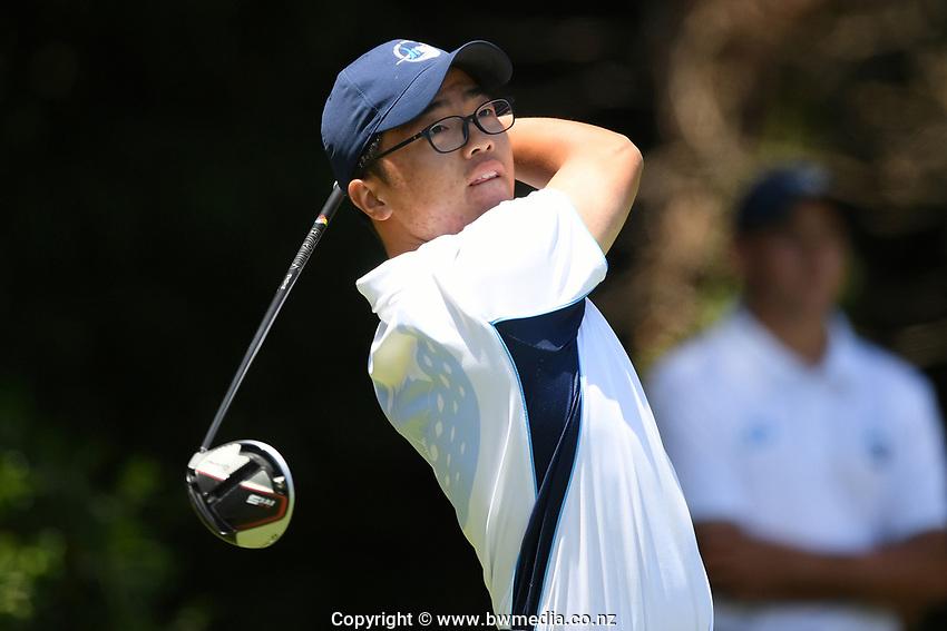 Jang Hyun Lee, Auckland, 2019 New Zealand Men's Interprovincials, Hastings Golf Club, Hawke's Bay, New Zealand, Tuesday 26th November, 2019. Photo: Kerry Marshall/www.bwmedia.co.nz