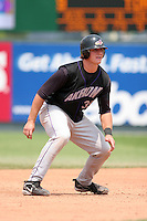 Akron Aeros David Wallace during an Eastern League game at Jerry Uht Park on June 29, 2006 in Erie, Pennsylvania.  (Mike Janes/Four Seam Images)
