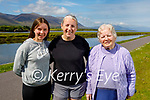 Kathleen Collins from Tralee who is getting  ready to climb Mount Brandon on the 26th of June for Palliative Care in memory of her sister Ann Collins. L to r: Holly O'Brien, Kathleen and  Mary Collins