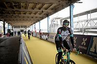 Luke Durbridge (AUS/BikeExchange) at the race start in Antwerpen<br /> <br /> 105th Ronde van Vlaanderen 2021 (MEN1.UWT)<br /> <br /> 1 day race from Antwerp to Oudenaarde (BEL/264km) <br /> <br /> ©kramon
