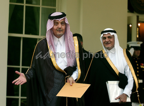 FILE PHOTO: Minister of Foreign Affairs Saud Al-Faisal of Saudi Arabia listens to the opening speeches at The Annapolis Conference convened at the United States Naval Academy in Annapolis, Maryland on Tuesday, November 27, 2007. Prince Saud bin Faisal bin Abdulaziz Al Saud passed away of undisclosed causes on Thursday, July 9, 2015. Photo Credit: Ron Sachs/CNP/AdMedia