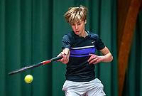 Wateringen, The Netherlands, December 4,  2019, De Rhijenhof , NOJK 14 and18 years, Jorrit Tromp (NED)<br /> Photo: www.tennisimages.com/Henk Koster