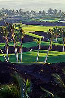 Waikoloa golf course on the Big Island of Hawaii