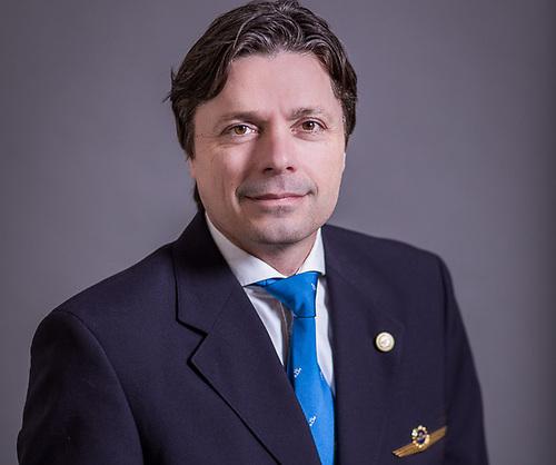 European Cockpit Association president Capt Otjan de Bruijn