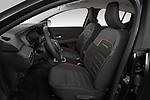 Front seat view of a 2021 Dacia Sandero Stepway Plus 5 Door Hatchback