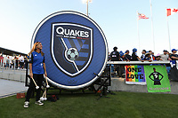 SAN JOSE, CA - AUGUST 24: Drum ceremony prior to a Major League Soccer (MLS) match between the San Jose Earthquakes and the Vancouver Whitecaps FC  on August 24, 2019 at Avaya Stadium in San Jose, California.