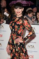 Lucy Pargater<br /> arriving for the National TV Awards 2019 at the O2 Arena, London<br /> <br /> ©Ash Knotek  D3473  22/01/2019