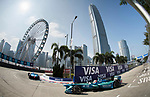 Antonio Felix da Costa of Portugal from MS & AD Andretti Formula E competes in the Formula E Qualifying Session 2 during the FIA Formula E Hong Kong E-Prix Round 2 at the Central Harbourfront Circuit on 03 December 2017 in Hong Kong, Hong Kong. Photo by Victor Fraile / Power Sport Images