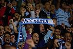 Tottenham Hotspur 0 Lazio 0, 20/09/2012. White Hart Lane, Europa League. Lazion supporter with a Gazza scarf. Photo by Simon Gill.