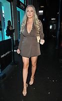 Bethany Lily April at the boohooMan Love Island Party, boohoo, Great Portland Street, on Thursday 07th October 2021, in London, England, UK. <br /> CAP/CAN<br /> ©CAN/Capital Pictures