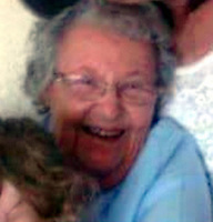Pictured: Betty Guy<br /> Re: A mother and son will go on trial at Swansea crown court charged with murdering 84 year old Betty Guy.<br /> Mrs Guy died on November 7, 2011, and her body was cremated soon afterwards.<br /> Her daughter, Penelope John, aged 50, and her grandson, Barry Rogers, 32, have previously denied her murder and an alternative charge of manslaughter.<br /> The court has previously heard that the prosecution case involved 75 hours of recorded statements made by the defendants.