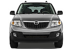 Straight front view of a 2009 Mazda Tribute Hybrid