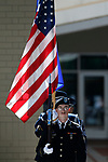 The Nevada Army National Guard Color Guard presents the colors during the Nevada National Guard's 23rd annual Flag Day ceremony in Carson City, Nev., on Monday, June 14, 2021. <br /> Photo by Cathleen Allison