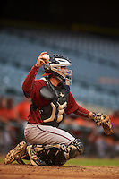 Arizona Diamondbacks catcher Tyler Baker (5) during an instructional league game against the San Francisco Giants on October 16, 2015 at the Chase Field in Phoenix, Arizona.  (Mike Janes/Four Seam Images)