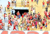 GOIÂNIA, GO, 27.03.2016 - ATLETICO-GO-VILA NOVA - Lance de partida entre Atlético-GO e Vila Nova valido pelo campeonato Goiânio no estadio Serra Dourada neste domingo, 27. (Foto: Marcos Souza/Brazil Photo Press)