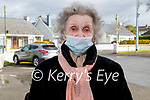 Nettie Dowling from Tralee receiving her vaccine on Friday at the Fuchsia Medical Centre in Tralee