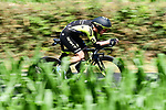Simon Yates (GBR) Mitchelton-Scott in action during Stage 13 of the 2019 Tour de France an individual time trial running 27.2km from Pau to Pau, France. 19th July 2019.<br /> Picture: ASO/Alex Broadway | Cyclefile<br /> All photos usage must carry mandatory copyright credit (© Cyclefile | ASO/Alex Broadway)