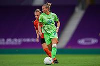 21st August 2020, San Sebastian, Spain;  Alexandra Popp  Wolfsburg in action during the UEFA Womens Champions League football match Quarter Final between Glasgow City and VfL Wolfsburg.